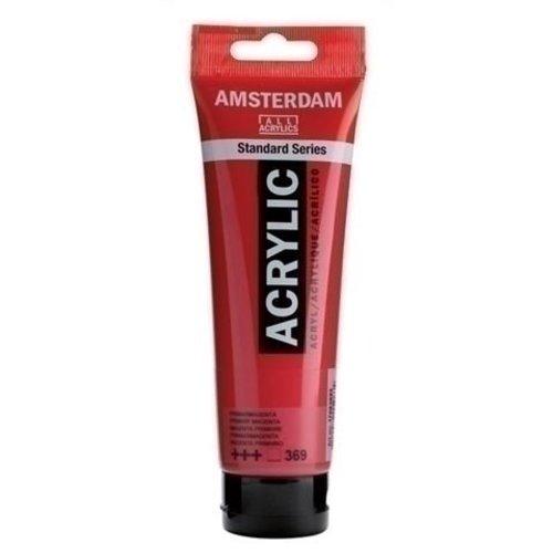 Talens Amsterdam Amsterdam Acrylverf 120 ml nr 369 Primairmagenta