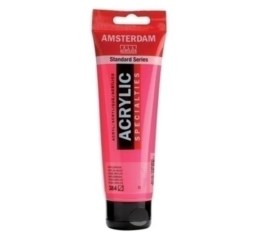 Amsterdam Acrylverf 120 ml nr 384 Reflexrose