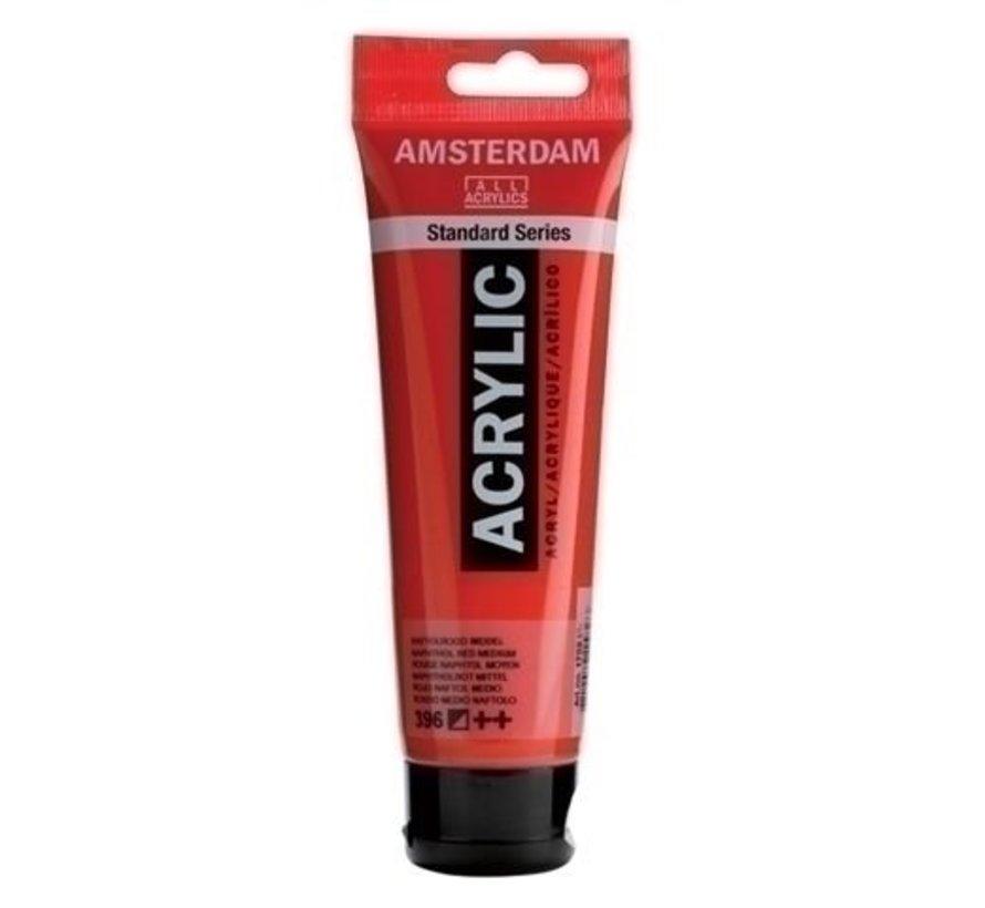 Amsterdam Acrylverf 120 ml nr 396 Naftolrood M.