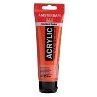 Amsterdam Acrylverf 120 ml nr 398 Naftolrood Licht