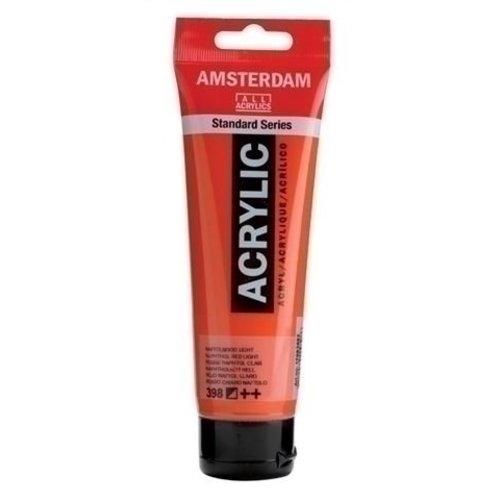 Talens Amsterdam Amsterdam Acrylverf 120 ml nr 398 Naftolrood Licht