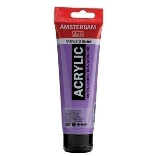 Talens  Amsterdam Acrylverf 120 ml nr507 Ultramarijnviolet