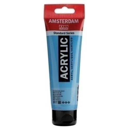 Talens Amsterdam Amsterdam Acrylverf 120 ml nr 517 Koningsblauw