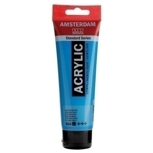 Talens  Amsterdam Acrylverf 120 ml nr 564 Briljantblauw
