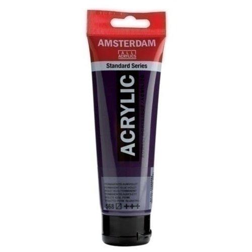 Talens  Amsterdam Acrylverf 120 ml nr 568 Perm Blauwviolet