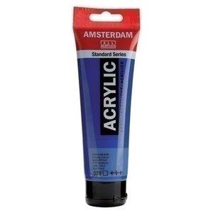 Talens Amsterdam Amsterdam Acrylverf 120 ml nr 570 Phtaloblauw