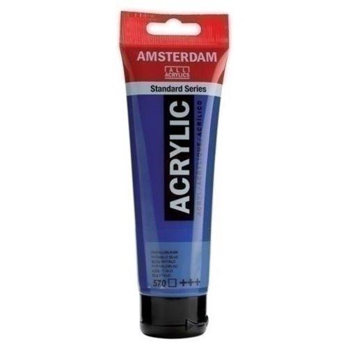 Talens  Amsterdam Acrylverf 120 ml nr 570 Phtaloblauw