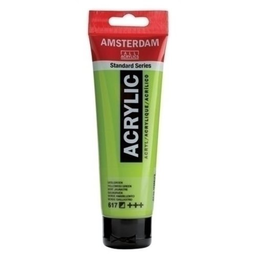 Talens  Amsterdam Acrylverf 120 ml nr 617 Geelgroen