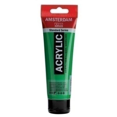 Talens  Amsterdam Acrylverf 120 ml nr 618 Permanentgroen L