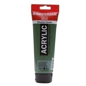 Talens  Amsterdam acrylverf 120 ml 622 olijfgroen donker