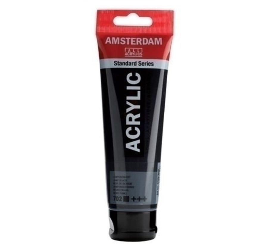 Amsterdam Acrylverf 120 ml nr 702 Lampenzwart