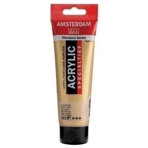 Talens Amsterdam Amsterdam Acrylverf 120 ml nr 802 Lichtgoud