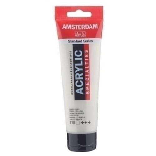 Talens  Amsterdam Acrylverf 120 ml nr 818 Parelgeel