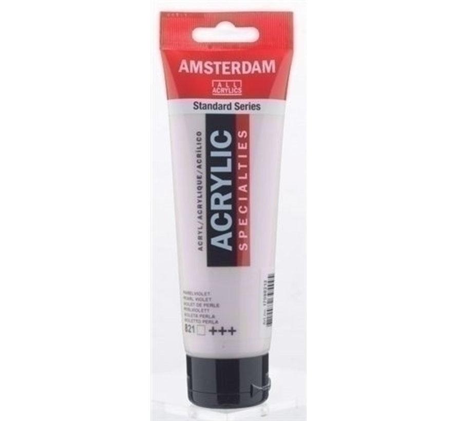 Amsterdam Acrylverf 120 ml nr 821 Parelviolet