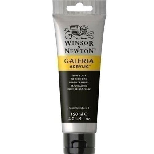 Winsor & Newton Galeria Acrylverf Ivory Black 331 120 ML