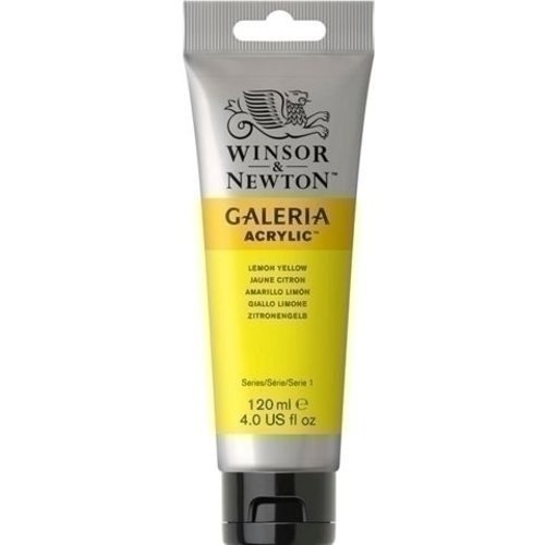Winsor & Newton Galeria Acrylverf Lemon Yellow 346 120 ML