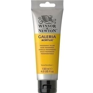 Winsor & Newton Galeria Acrylverf Transparent Yellow 653 120 ML