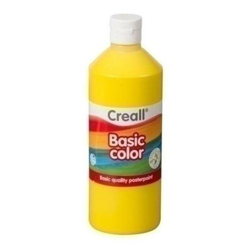 Creall Creall Plakkaatverf geel 500 ml