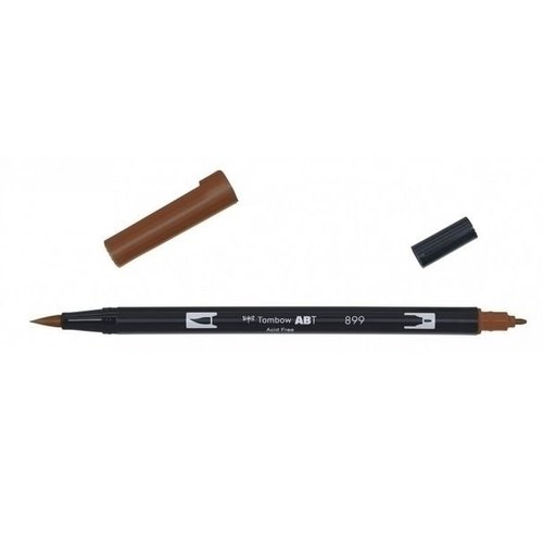 Tombow Tombow ABT dual brush pen redwood ABT-899