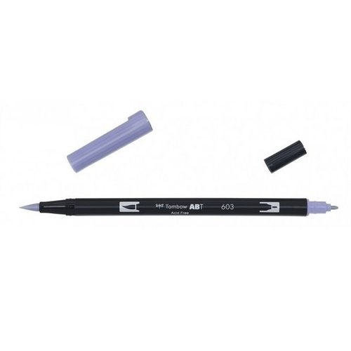 Tombow Tombow ABT dual brush pen periwinkle ABT-603