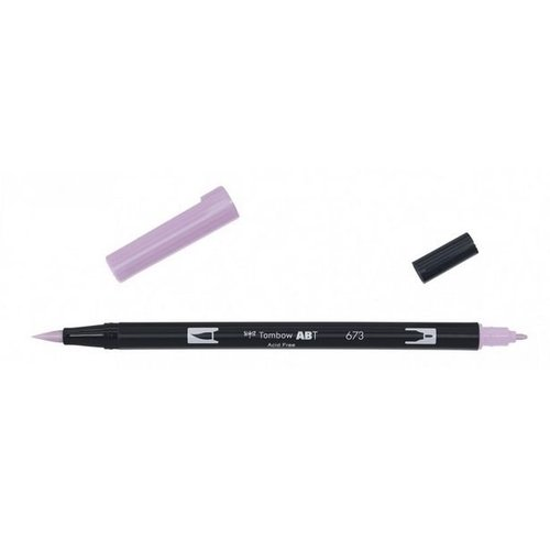 Tombow Tombow ABT dual brush pen orchid ABT-673