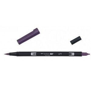 Tombow Tombow ABT dual brush pen dark plum ABT-679