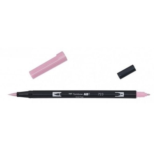Tombow Tombow ABT dual brush pen pink ABT-723