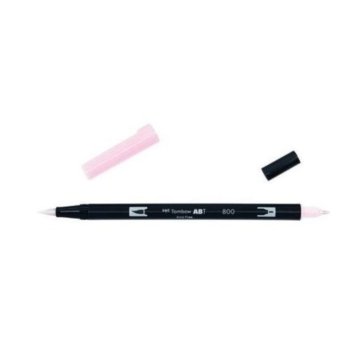 Tombow Tombow ABT dual brush pen baby pink ABT-800