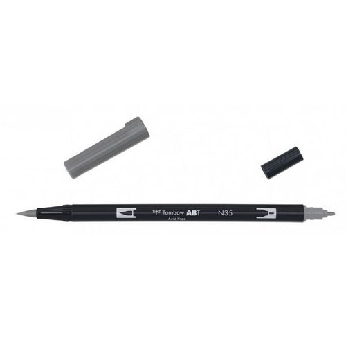 Tombow Tombow ABT dual brush pen cool grey 12 ABT-N35