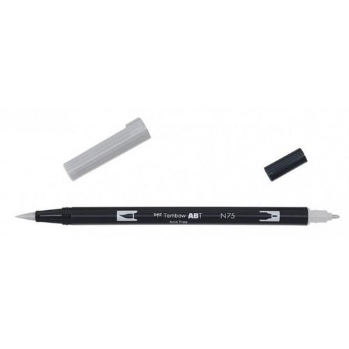 Tombow Tombow ABT dual brush pen cool grey 3 ABT-N75
