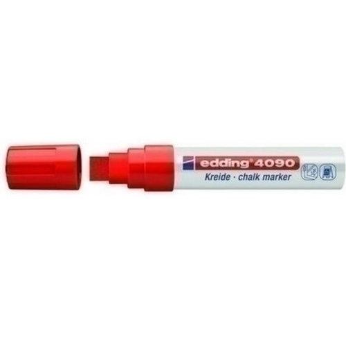 Edding Edding krijtmarker 4090 Rood 002 4-15 mm