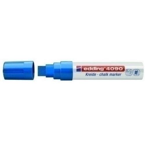 Edding Edding krijtmarker 4090 Blauw 003 4-15 mm