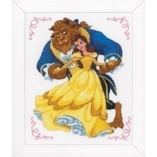 Vervaco Walt Disney telpakket Beauty and the beast 0168067