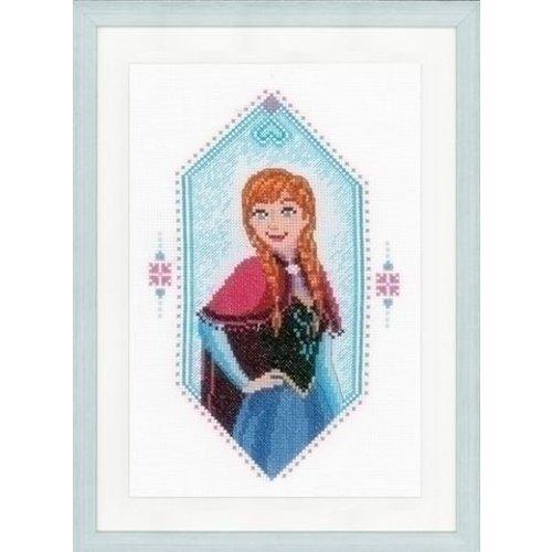 Vervaco Walt Disney Borduurpakket Princess Anna 0167299