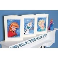 Frozen wenskaarten Anna, Elsa en Olaf 0168526