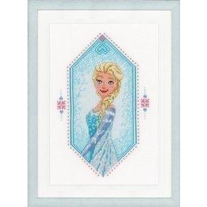 Vervaco Disney borduurpakket Frozen heart 0167297