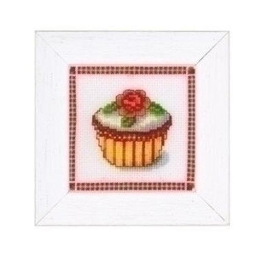 Vervaco Borduurpakket Cupcake 40359