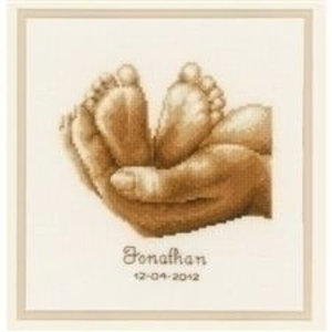 Vervaco Vervaco Borduurpakket geboorte Jonathan 45231