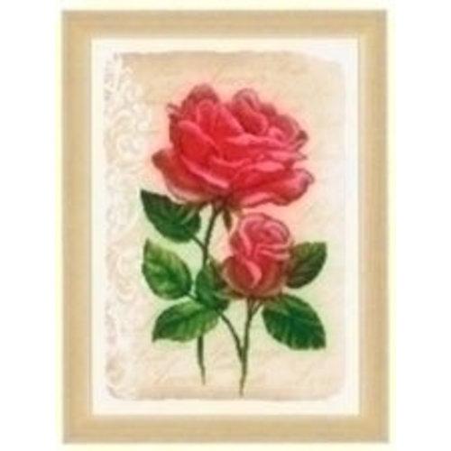 Vervaco Borduurpakket rode rozen 70212