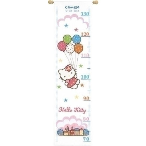 Vervaco Borduren groeimeter Hello Kitty 0148210