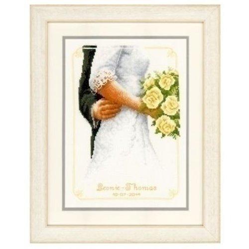 Vervaco Borduurpakket Bruidsboeket met Rozen 0149274