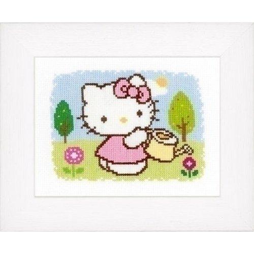 Vervaco Borduurpakket Hello Kitty Lente 0148645