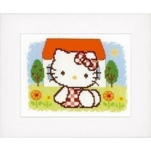 Vervaco Borduurpakket Hello Kitty Zomer 0148646