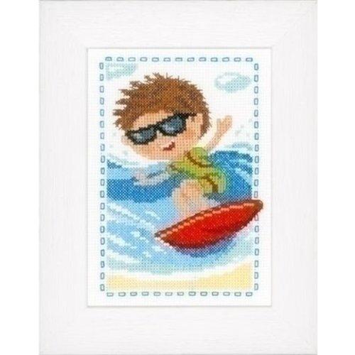 Vervaco Borduurpakket Surfen 0148711
