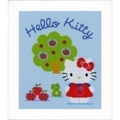 Vervaco Borduurpakket Hello Kitty met Appelboom 0150488