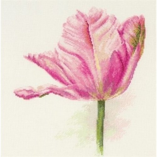 Alisa Alisa borduurpakket Tulips Light Pink S2-42