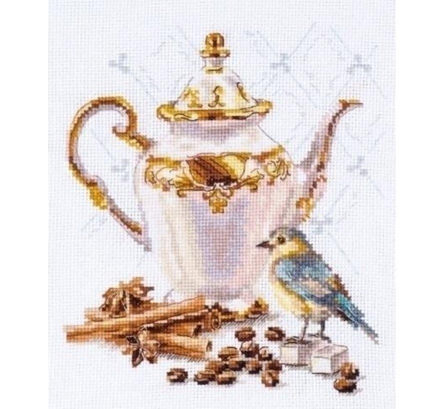 Alisa Borduurpakket Coffee Connoisseur S5-21