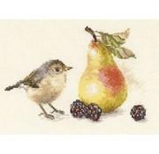 Alisa Borduurpakket Bird and a Pear S5-23