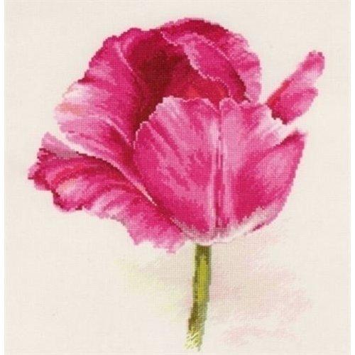 Alisa Alisa Borduurpakket Tulips Crimson Glow S2-43