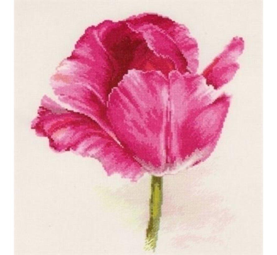 Alisa Borduurpakket Tulips Crimson Glow S2-43